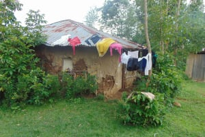 The Water Project: Rosterman Community, Lishenga Spring -  Drying Clothes