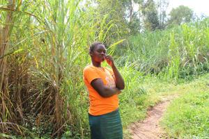 The Water Project: Imbinga Community, Imbinga Spring -  Agnes Sabina