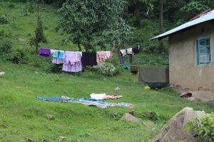 The Water Project: Imbinga Community, Imbinga Spring -  Clothesline