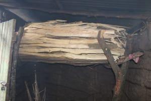 The Water Project: Imbinga Community, Imbinga Spring -  Firewood Used In The Three Stone Fireplace