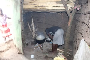 The Water Project: Imbinga Community, Imbinga Spring -  Kitchen