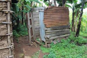 The Water Project: Imbinga Community, Imbinga Spring -  Latrine