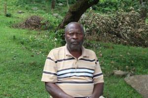 The Water Project: Imbinga Community, Imbinga Spring -  Mr Khaika Luka