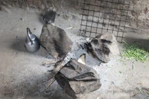 The Water Project: Imbinga Community, Imbinga Spring -  Three Stone Cookstove