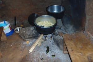 The Water Project: Jivovoli Community, Magumba Spring -  Cooking