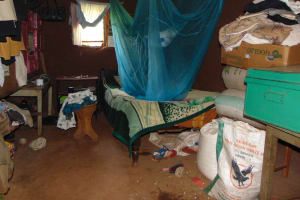 The Water Project: Jivovoli Community, Magumba Spring -  Inside Bedroom