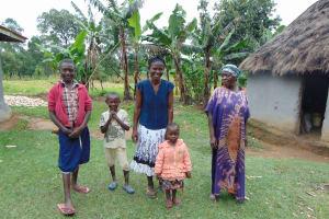 The Water Project: Buyangu Community, Mukhola Spring -  Community Members