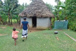The Water Project: Buyangu Community, Mukhola Spring -  Homestead