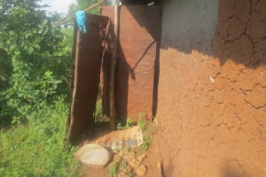 The Water Project: Emmachembe Community, Magina Spring -  Bathroom