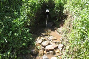 The Water Project: Emmachembe Community, Magina Spring -  Spring