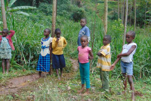 The Water Project: Masuveni Community, Masuveni Spring -  Community Children
