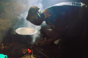 The Water Project: Masuveni Community, Masuveni Spring -  Cooking