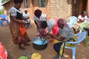 The Water Project: Kangalu Community -  Soapmaking