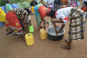 The Water Project: Kangalu Community A -  Soapmaking