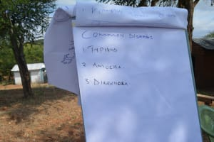 The Water Project: Kangalu Community A -  Training Materials