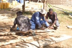 The Water Project: AIC Kyome Girls' Secondary School -  Construction