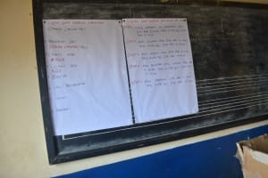 The Water Project: AIC Kyome Girls' Secondary School -  Training Materials