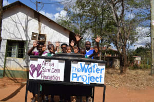 The Water Project: Matiliku Primary School -  Clean Hands