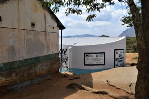The Water Project: Matiliku Primary School -  Completed Tank And Gutters