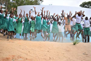 The Water Project: Matiliku Primary School -  Jumping For Clean Water