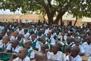The Water Project: Matiliku Primary School -  Students At The Training