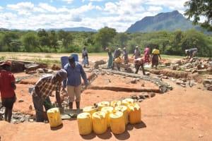 The Water Project: Matiliku Primary School -  Tank Construction
