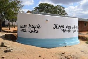 The Water Project: Matiliku Primary School -  Tank