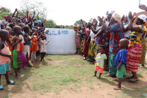 The Water Project: Gbontho Lane, Behind Gbontho Mosque -  Celebrating The Well