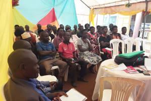The Water Project: Kikube Nyabubale Community -  People At Training