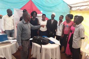 The Water Project: Kikube Nyabubale Community -  Self Help Group Trainers