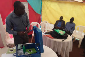 The Water Project: Kikube Nyabubale Community -  Trainer Leads Discussion