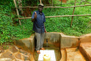 The Water Project: Asimuli Community, John Omusembi Spring -  John Omusembi Akunwa