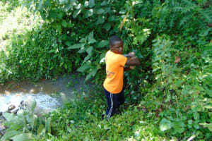The Water Project: Buyangu Community, Osundwa Spring -  Site Clearance