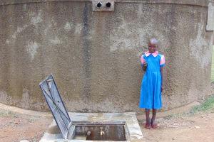 The Water Project: Kapsotik Primary School -  Sheila Iravoga