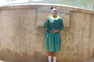 The Water Project: Madegwa Primary School -  Charity Kavita
