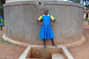 The Water Project: Lugango Primary School -  Mary Khatenje