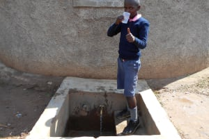 The Water Project: Friends Kaimosi Demonstration Primary School -  Isaac Asila