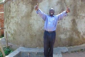 The Water Project: Muyere Primary School -  Water And Sanitation Teacher Mr Pius Namasaki