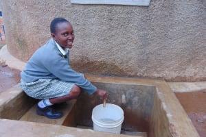 The Water Project: Precious School Kapsambo Secondary -  Trina Ngutu