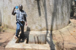 The Water Project: Eshisenye Primary School -  Deputy Head Teacher Mr Francis Chibole