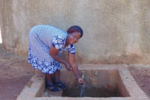 The Water Project: Matsigulu Primary School -  Sanitation Teacher Mrs Beatrice Andare