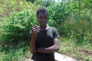 The Water Project: Musango Community, Jared Lukoko Spring -  Sheila Awinja