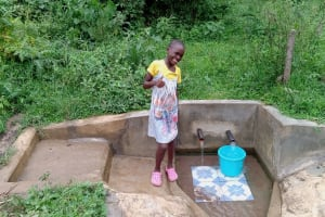 The Water Project: Luvambo Community, Timona Spring -  Tabitha Sunguti