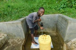 The Water Project: Muyundi Community, Baraza Spring -  Veline Imbili Is All Smiles