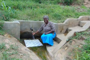 The Water Project: Emaka Community, Ateka Spring -  Mary Atuka Abdi