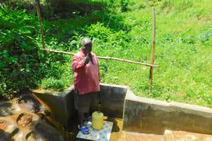 The Water Project: Koloch Community, Solomon Pendi Spring -  David Vidinyu