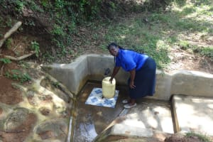 The Water Project: Shitirira Community, Peninah Spring -  Peninah Mwanzo