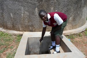 The Water Project: Kaimosi Demonstration Secondary School -  Cynthia Anzemo