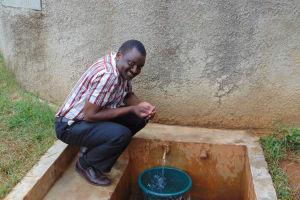The Water Project: Lwanda Secondary School -  Mr Lawrence Ambunya