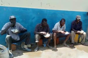 The Water Project: Friends Primary School Givogi -  Artisans Having A Lunch Break